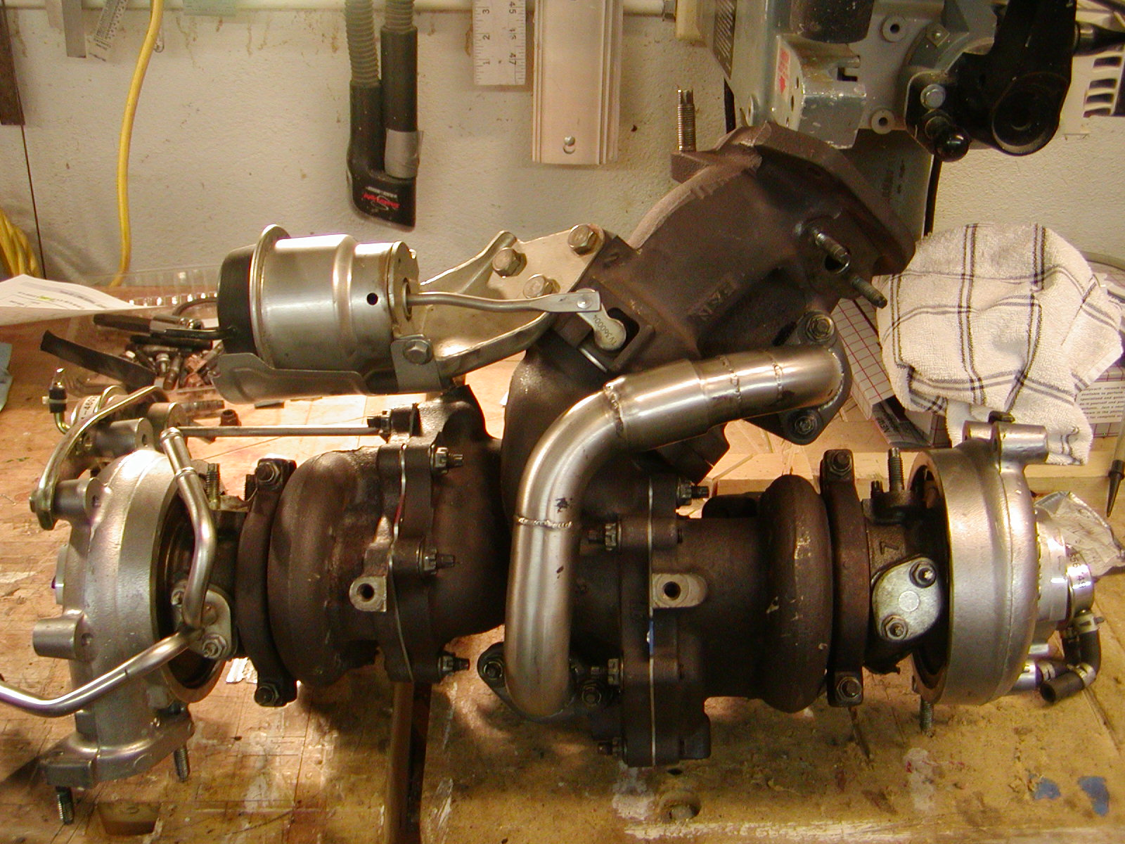 2JZ-GTE Twin Turbos on a 2LT???? - Turbos