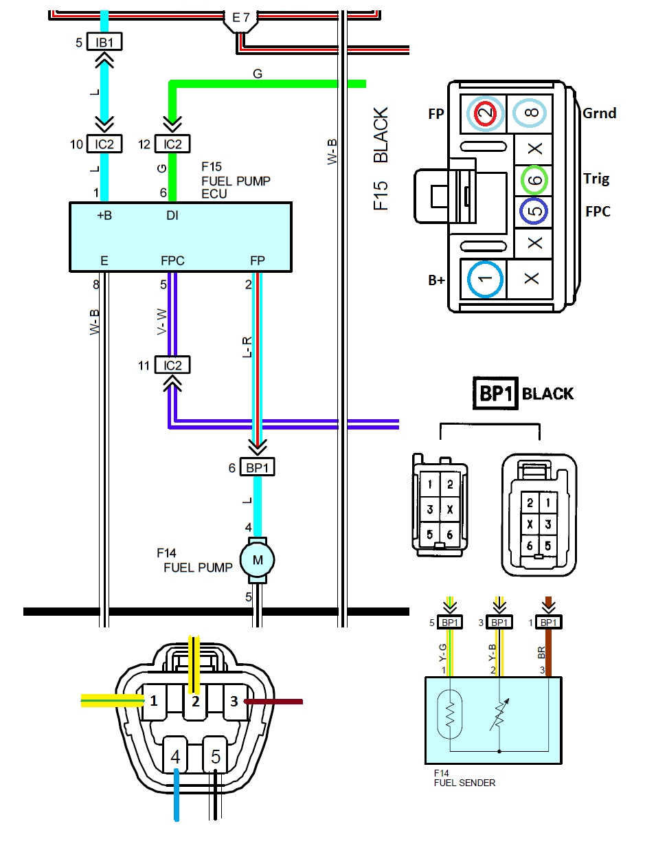 FP Wiring toyota 22re wiring diagram 1989 toyota pickup engine diagram Toyota 22RE Diagram at edmiracle.co